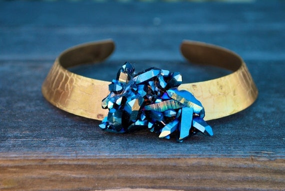 Rainbow Armor Gold Neck Cuff Collar