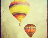 The Two of Us  Hot air balloons photo 8x8 fine art print Buy one get one free sale