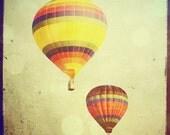 Hot Air Balloon - 4x4 hot air balloon photo - The Two of Us