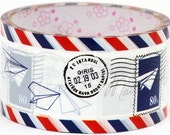 Kawaii Jumbo Deco adhesive Tape Stickers - Letters AirMail DTB12