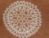 Victorian tatted doily from Romania