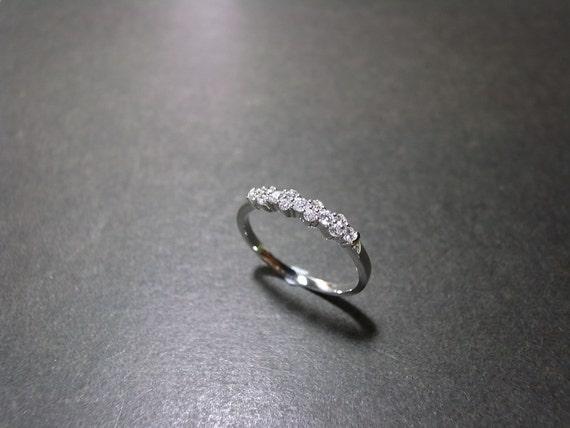 0.27cttw Diamond Ring in 14K White Gold