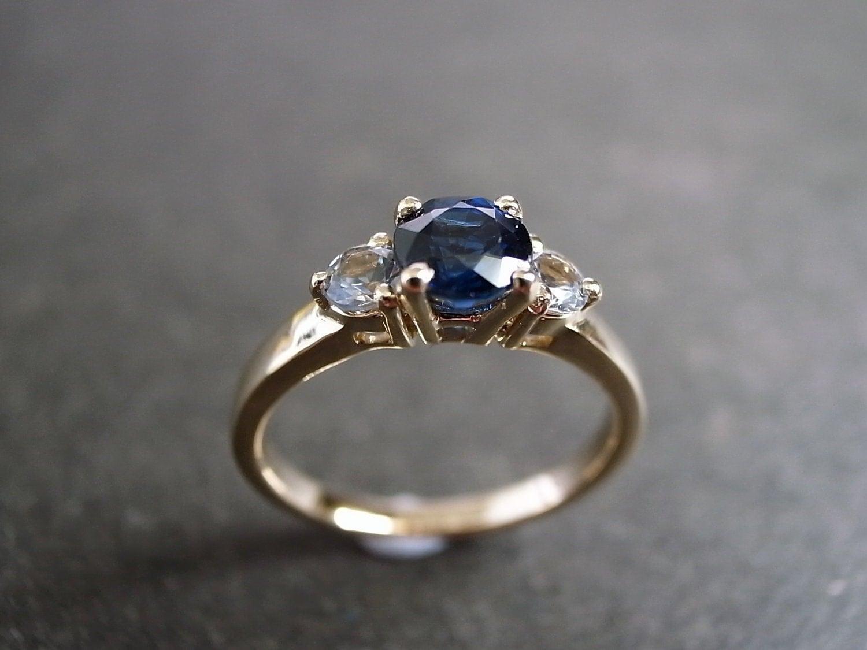 zoom - Sapphire Wedding Rings
