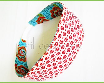 How to Make Reversible Fabric Headbands Tutorial with Pattern - immediate download