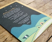 Camping Wedding Invitation-Blue Ridge Mountains
