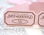 Handmade Sweet Blush Carnival Tickets - Just Arrived - Baby - Set of 18
