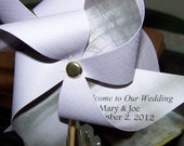 2 Pinwheels Personalized For Your Celebration