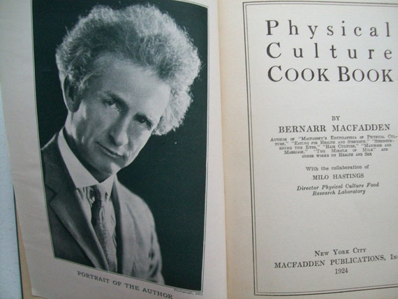 The Physical Culture Cookbook 1924