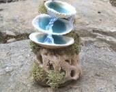 Fairy Furniture MERMAID FOUNTAIN Dollhouse Miniature Fairy Garden Plant Pot Beach Decor