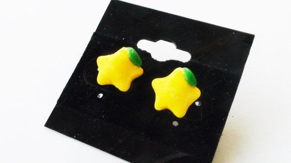 Paopu Fruit Studs Kingdom Hearts