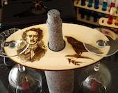 Edgar Allan Poe Wine Glass Holder The Raven