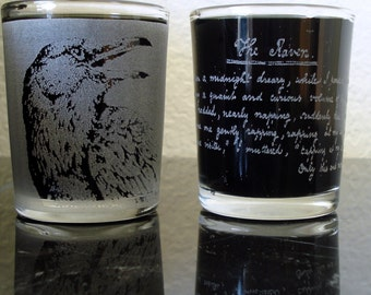 The Raven Shot Glass Set