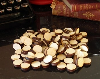 Small Natural Wood Rounds 100
