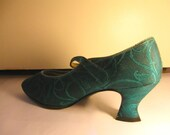 Teal Peacock Signature Series Shoe