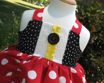 Mickey Mouse Clubhouse Twirl Dress available in sizes  2T-8girls