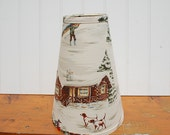 Cottage or Ski Chalet Lampshade