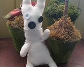 Hand sewn stuffed bunny