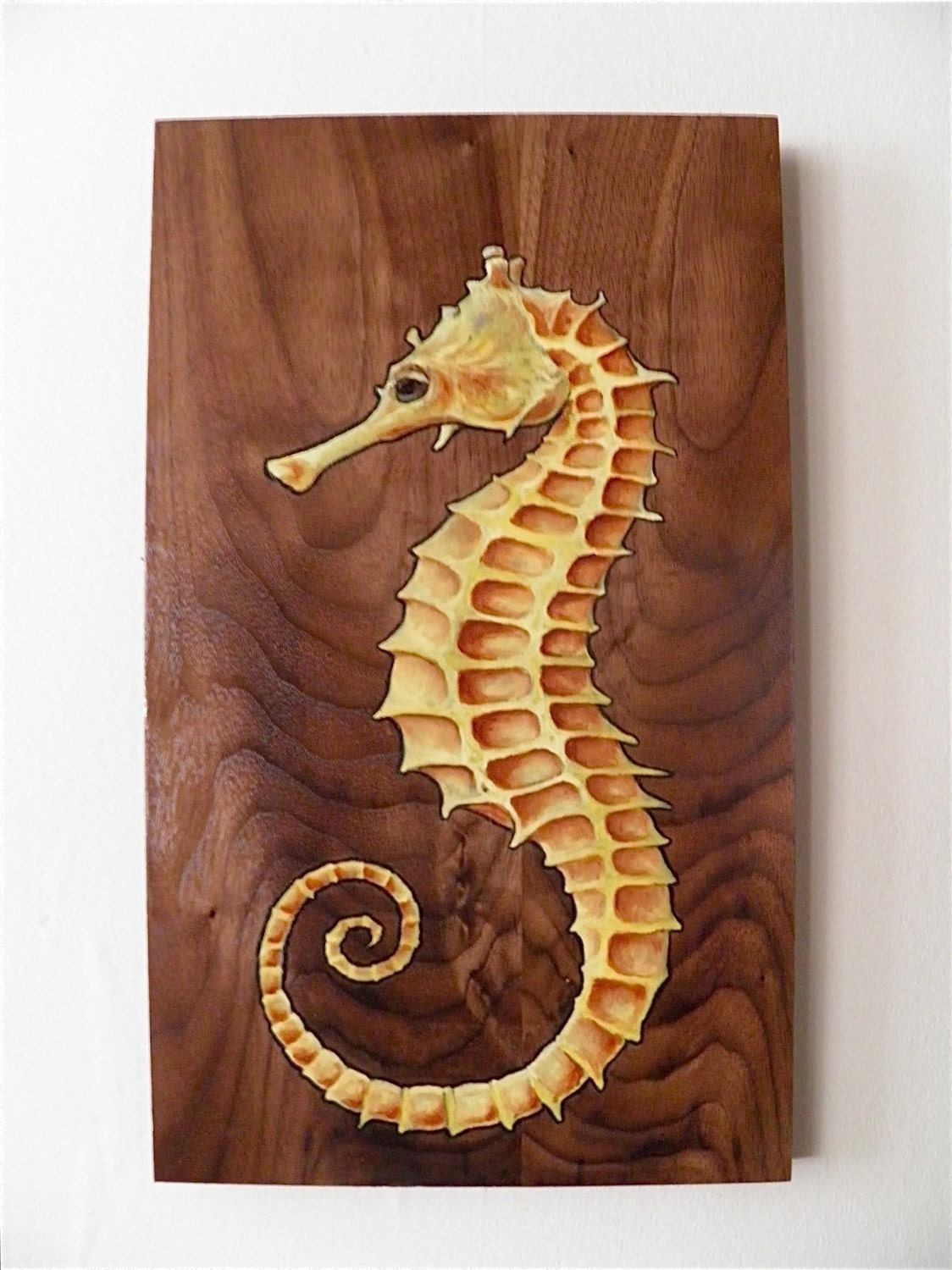 famous seahorse painting