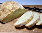 Crusty Country White Bread - Freezes Well - Homemade