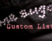 Custom listing for Charlie