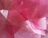 Gold Ruby Shards/Confetti Glass 96 Coe