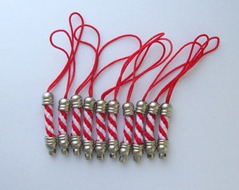 Christmas Cellphone Strap, Lanyard, Keychain Strap, Zipper Pull 1529