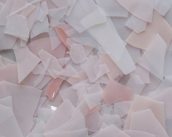 Old Pink Rose Shards/Confetti Glass 96 Coe