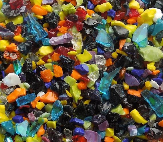 Rainbow Dream Glass Frit 96 Coe (One Ounce)
