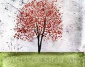 Color Tree Series -- Light Green -- 11x14