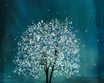 Sapphire Wind-- 11x14 -- Giclee Print