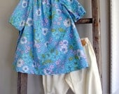 vintage tunic and bloomer outfit 5/6T