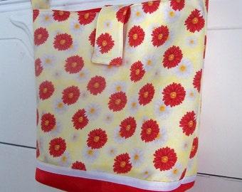 Messenger Bag - Springtime Flowers