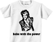 LABYRINTH - DAVID BOWIE - The babe with the power - Jareth the Goblin King - Any Size Infant or Toddler Onesie or Tshirt