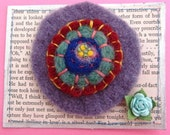 Felted Wool Pin
