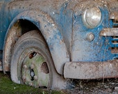 Photo of Old Truck Entitled Stuck - Fine Art Photo  - 8 X 12