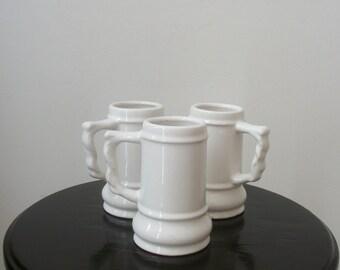 Miniature Ivory Stein Coffee/Tea Cups