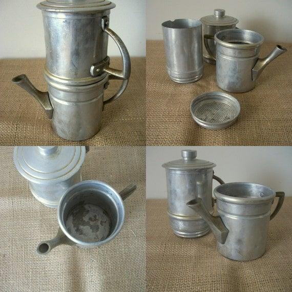 Neapolitan Flip Coffee Pot ~ Neapolitan flip coffee pot by noveltyandthings on etsy