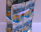 Roarin' Waters Tropical Punch Recycled Juice Pouch Reusable Lunch Bag-Great Gift for 10 Dollars