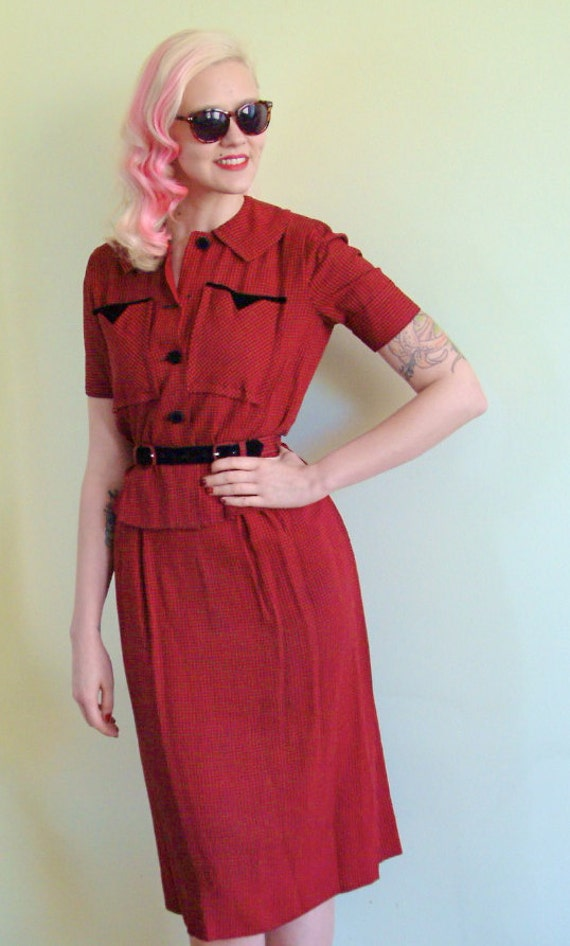 1950s Suit // Jonathan Logan Early 50s // Vintage Set // Xsmall-Small