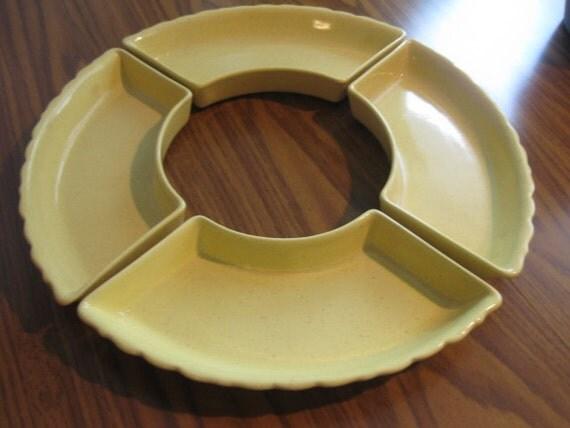 Ceramic pottery Santa Anita Ware in Yellow