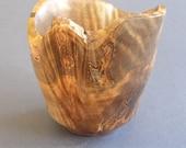 Small ambrosia maple bowl