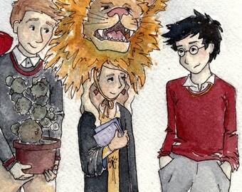 Harry Potter Fan Art - Honorary Gryffindor