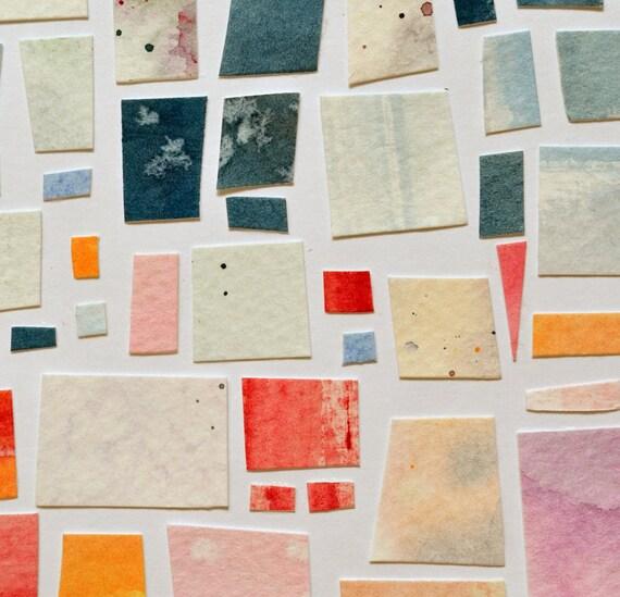 Cozy Place - Original Paper Mosaic