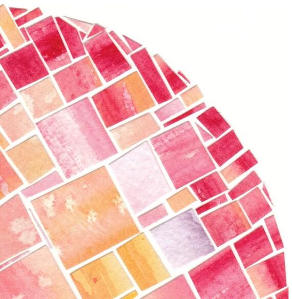 Hot Spot - Original Paper Mosaic