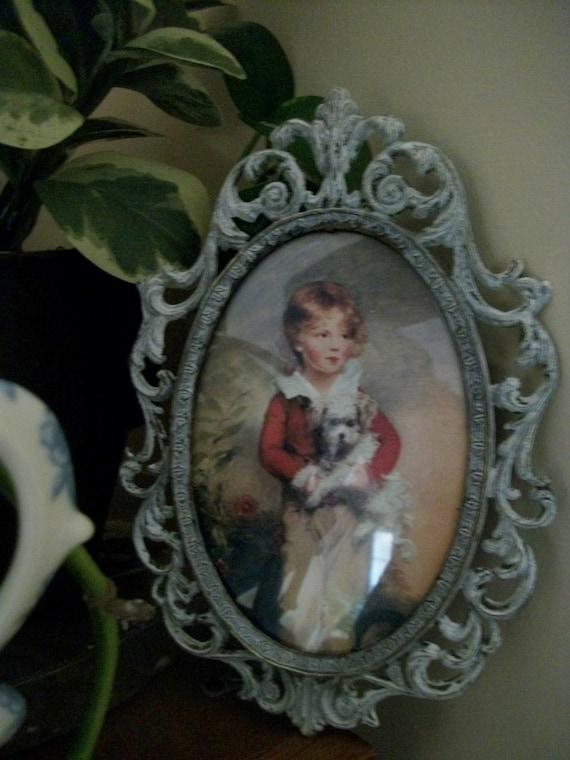 French Country Style Framed Picture