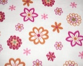 Flower Adult No Sew Fleece Blanket.  Shipping Incld in Price.