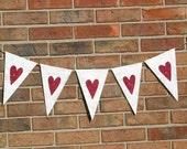 Heart Banner ..  Wedding Banner ....  Engagement Photo