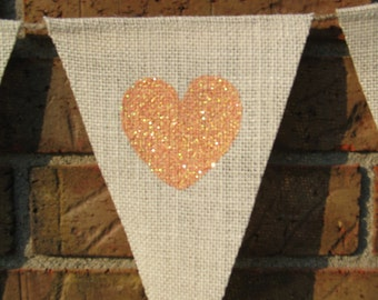 Sweet Love Burlap Banner  /  Bunting  /  Sweets Table  /  Wedding Banner  /  Reception Decoration  / Shower