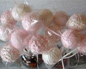 Cake Pops - soft pink princess cake pops (12)