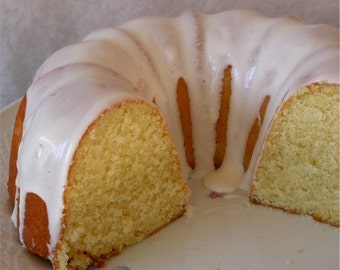 Nana's Old-Fashioned Lemon Bundt Cake - For Bridal or Baby Showers - Rehearsal Dinner - Anniversary or Birthday Parties - Luncheon or Brunch